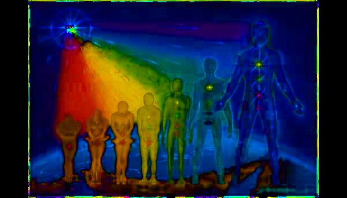 Vom Mensch zum Lichtwesen
